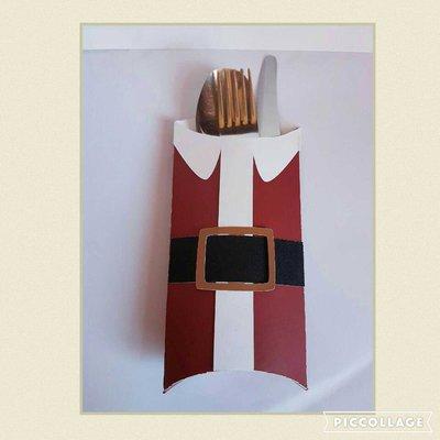 Porta posate per il Santo Natale!!!