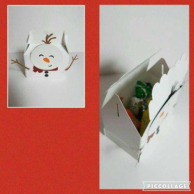 Cut Snowman Box