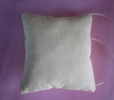 cuscino cuscinetto porta fedi da ricamare