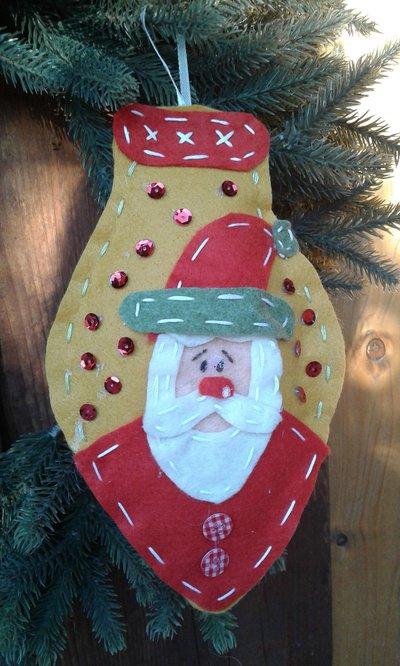 Lampadina di Natale