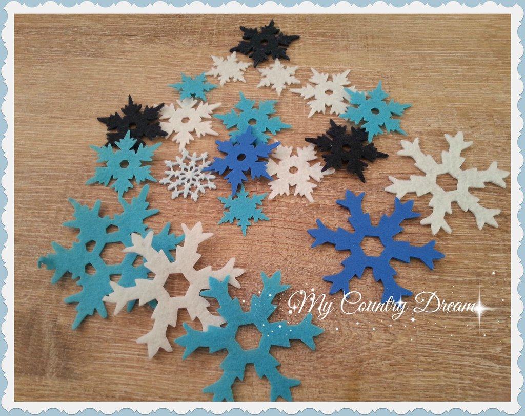 Snowflakes Box - Scatola fiocchi di neve