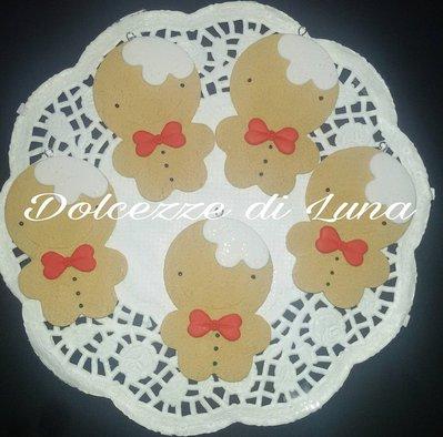 decorazioni natalizie omino pan di zenzero in fimo dolcezze di luna