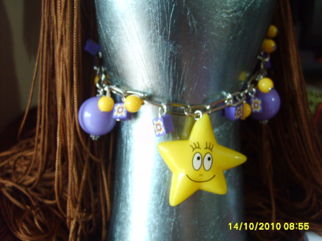 "BRACCIALE LINEA CARTOON ""BARBATRUCCO"""