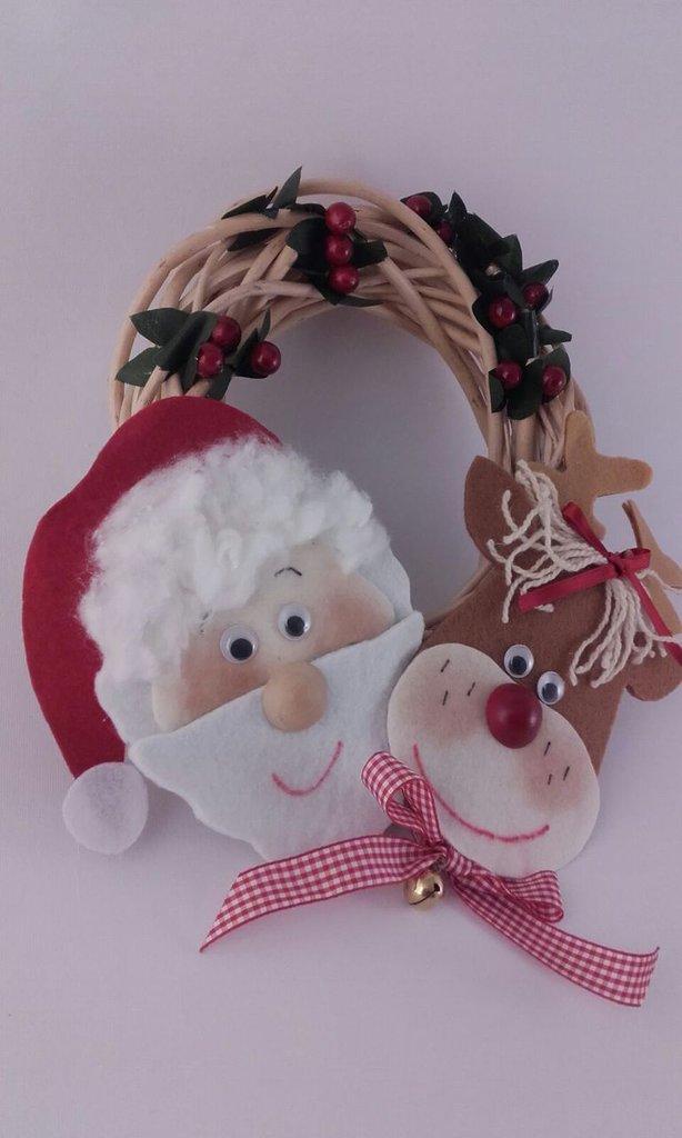 Ghirlanda Fuoriporta, portafortuna del Natale