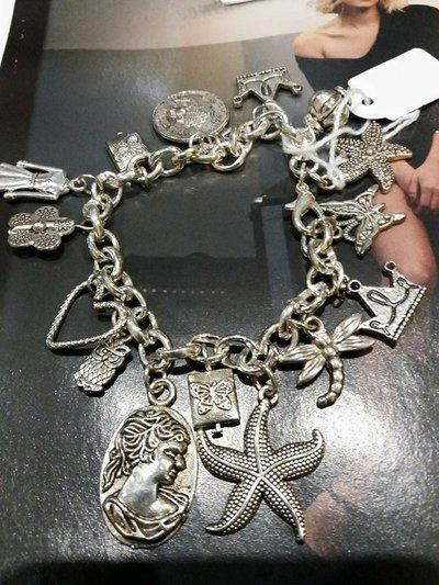 braccialetto in metallo