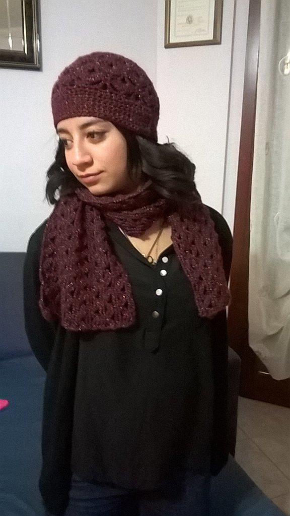 Cappello, sciarpa e guanti