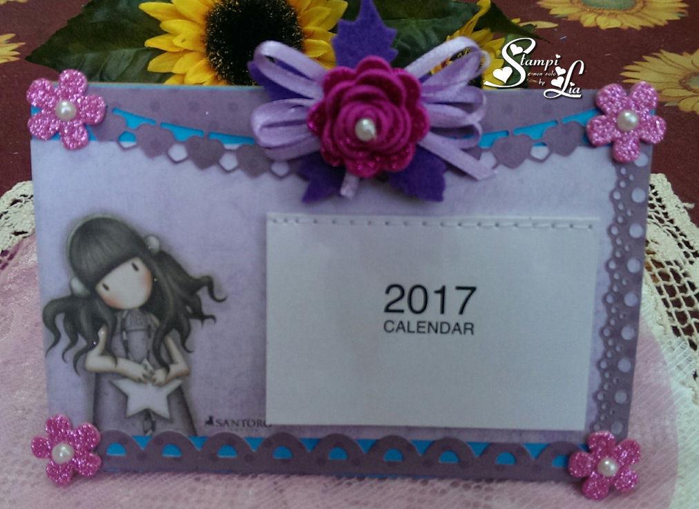 Calendario da tavolo 2017 per la casa e per te decorare casa su misshobby - Calendario 2017 da tavolo ...