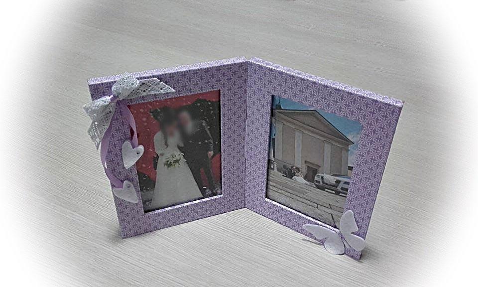 Cornice  porta foto doppia