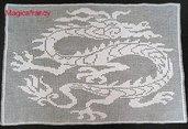 Quadro con drago cinese #9806