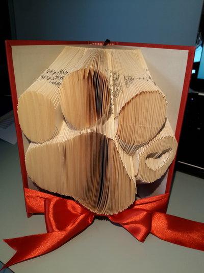 Idea regalo CUCCIOLO ZAMPA - Libro artigianale decorativo