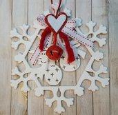 Decorazione natalizia - Fiocco di neve