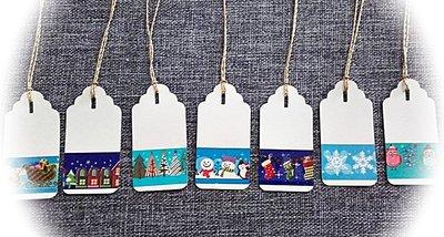 10 tag chiudipacco natalizi