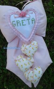 fiocco nascita Greta