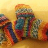 calzini 3-6 mesi multicolor