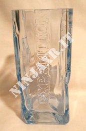 Vaso da arredo Bottiglia Vodka Amundsen South Pole Premium riciclo creativo riuso idea regalo arredo fatto a mano handmade