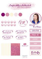 Grafica personalizzata Blog/Sito - Kit di Branding