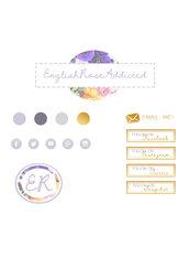 Grafica personalizzata Blog/Sito - Mini Kit di Branding
