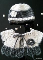 coprispalla/ scaldacuore neonata