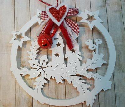 Decorazione natalizia - Candela