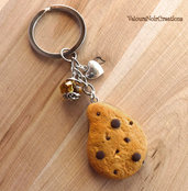 Portachiavi biscotto gocciole pavesi