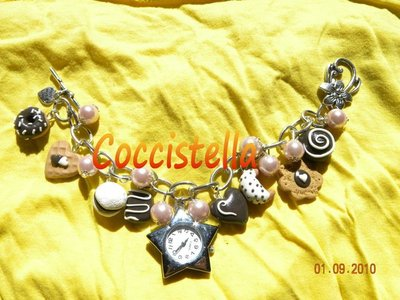 orologio bracciale rosa