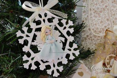 Angioletti decorativi Natale 2016