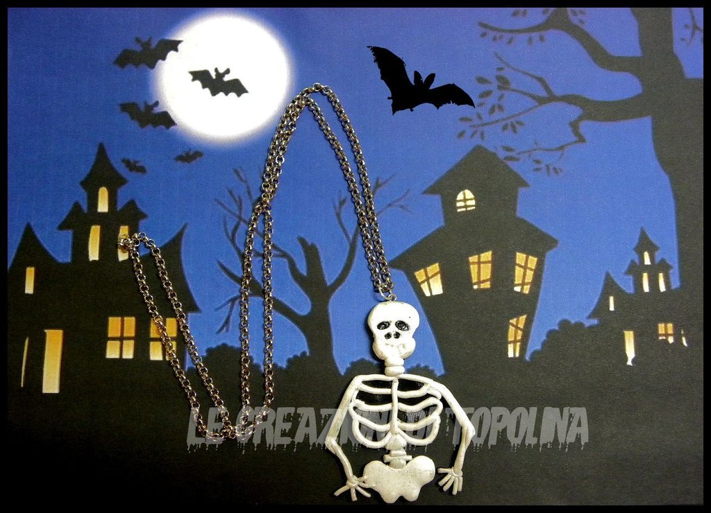 HALLOWEEN TIME:scheletro
