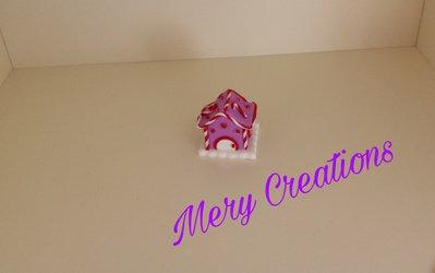 Casetta decorativa natalizia