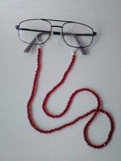 Catenelle porta occhiali con cristalli