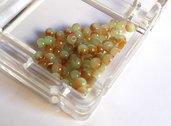 20 Perle di vetro MELANGE 4 mm PRL 385