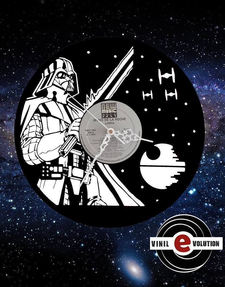 orologio da parete star wars darth vader