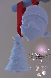Gessetti Di ceramica da appendere sull'albero di Natale