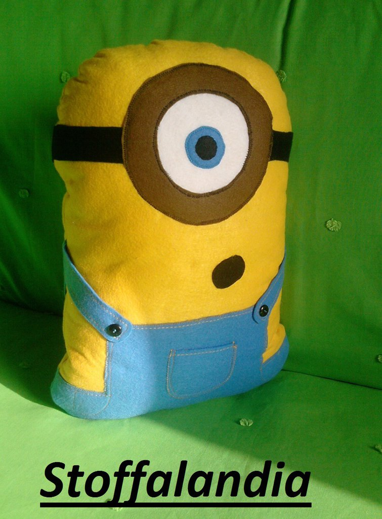 CUSCINO MINIONS 1 IDEA REGALO NATALE