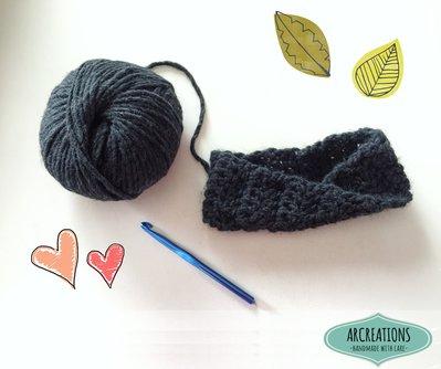 Fascia in lana per capelli