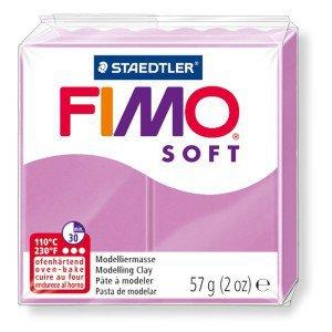 OFFERTISSIMA! 1 panetto FIMO SOFT color LAVANDA  n° 62  (57 gr)