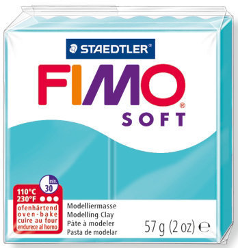 OFFERTISSIMA! 1 panetto FIMO SOFT color MENTA n° 39  (57 gr)