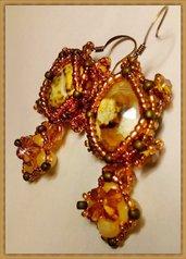 """"""" Agata """" earrings"""