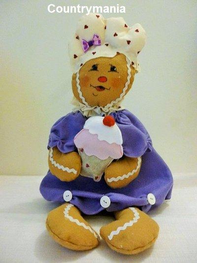 gingerbread di pannolenci