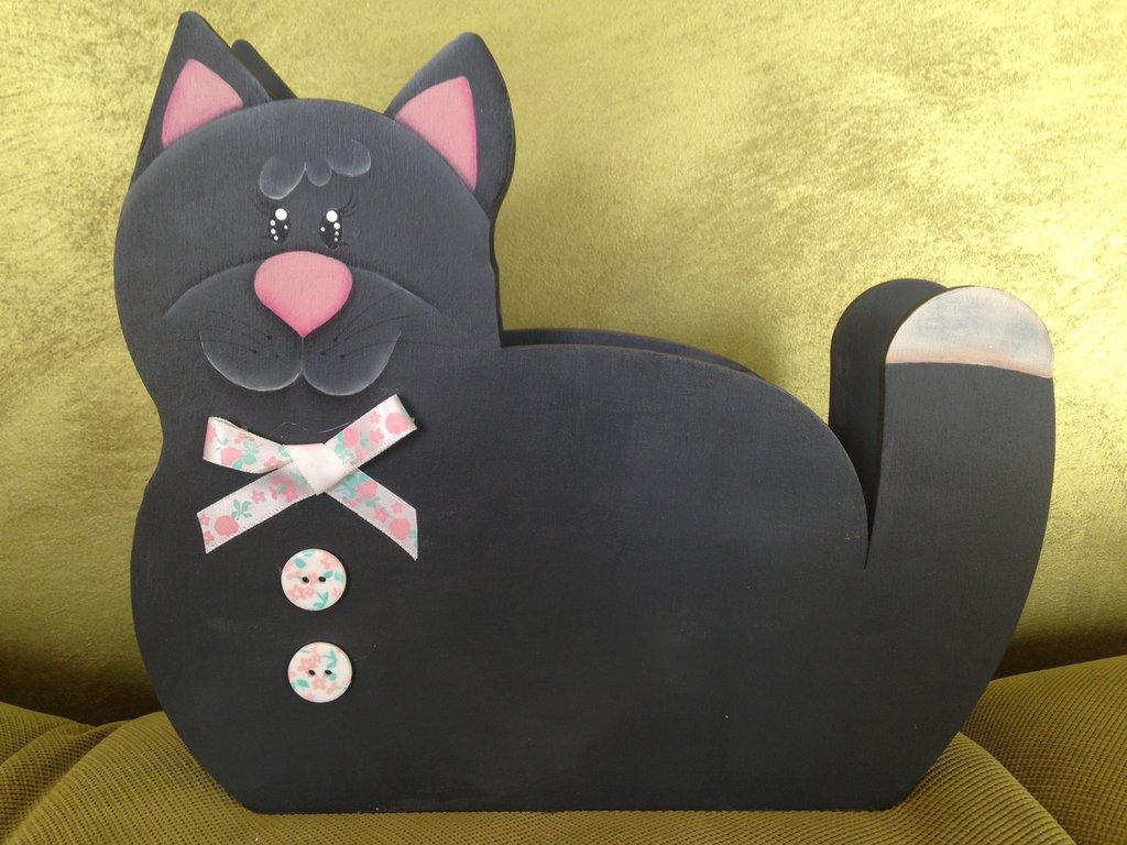 Salvadanaio dolce gattina