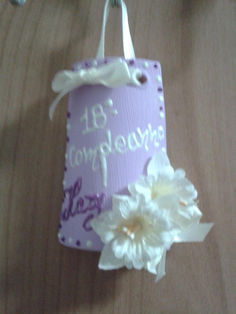 Tegoline decorate personalizzate
