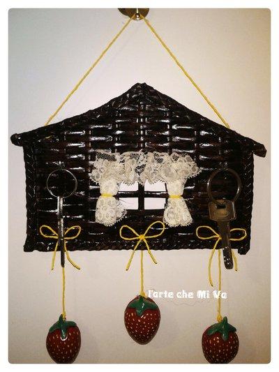 Portachiavi da parete per la casa e per te decorare casa di su misshobby - Portachiavi da parete design ...