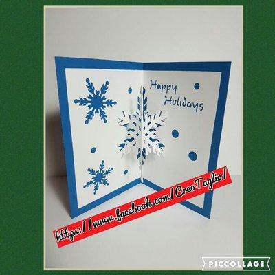 SNOWFLAKE POPUP CARD