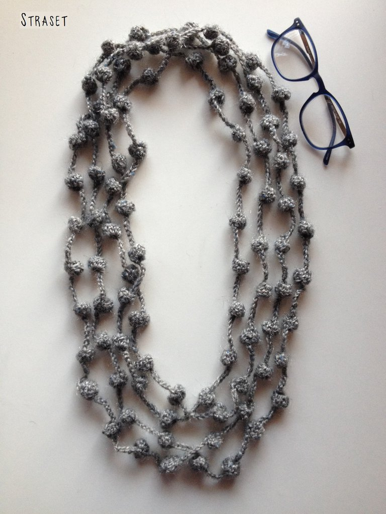 Collana lunga di lana - Gioielli - Collane - di Straset
