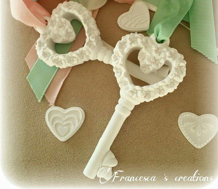 chiave con fiorellini