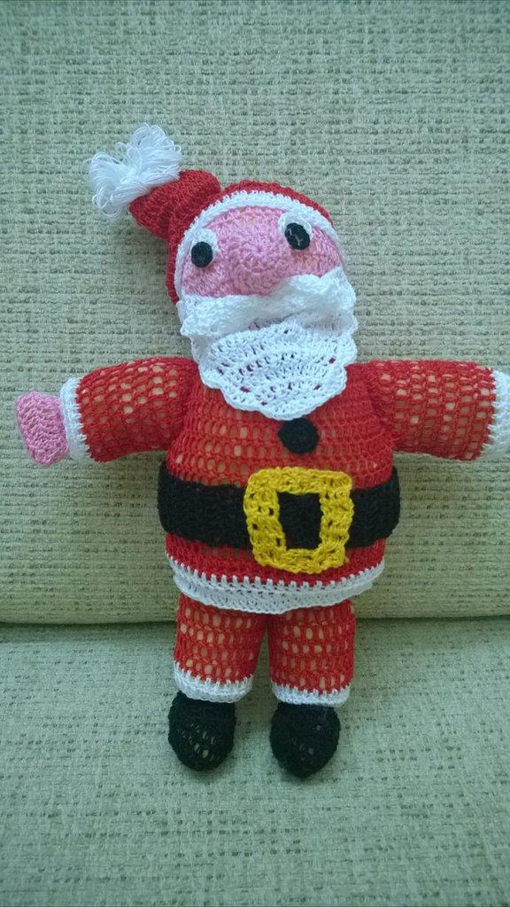 Babbo Natale Alluncinetto Feste Natale Di I Lavori Di Angy
