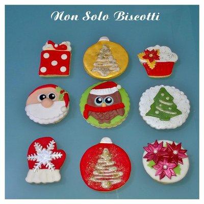 Biscotti decorati  Natalizi