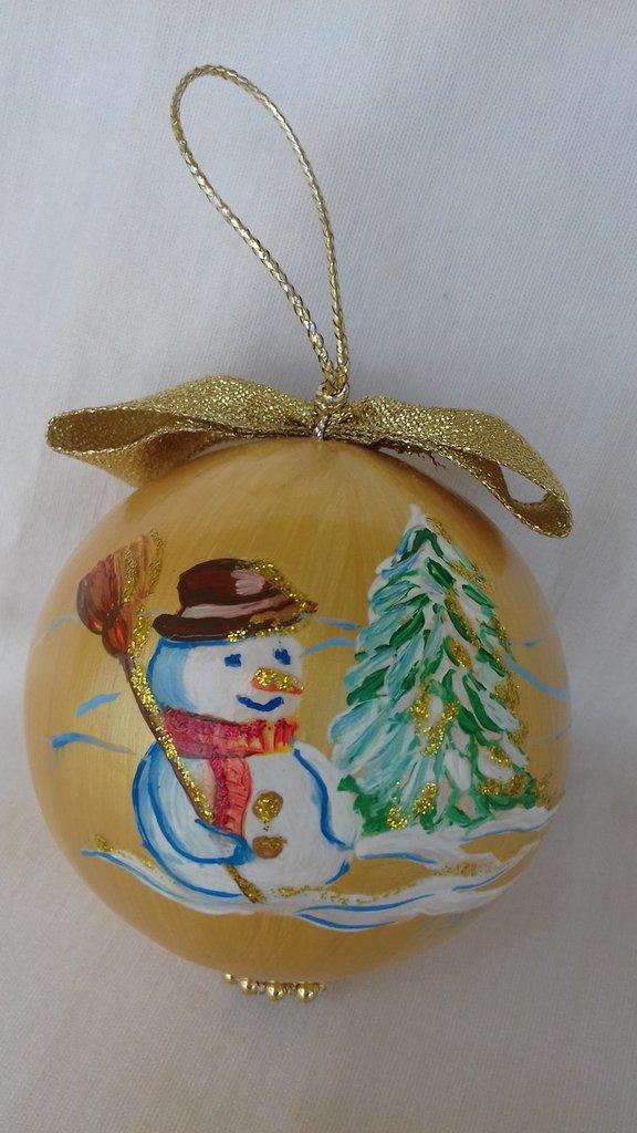 Pallina natalizia per addobbo albero di Natale
