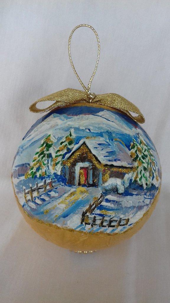 Palla natalizia per addobbo albero di Natale
