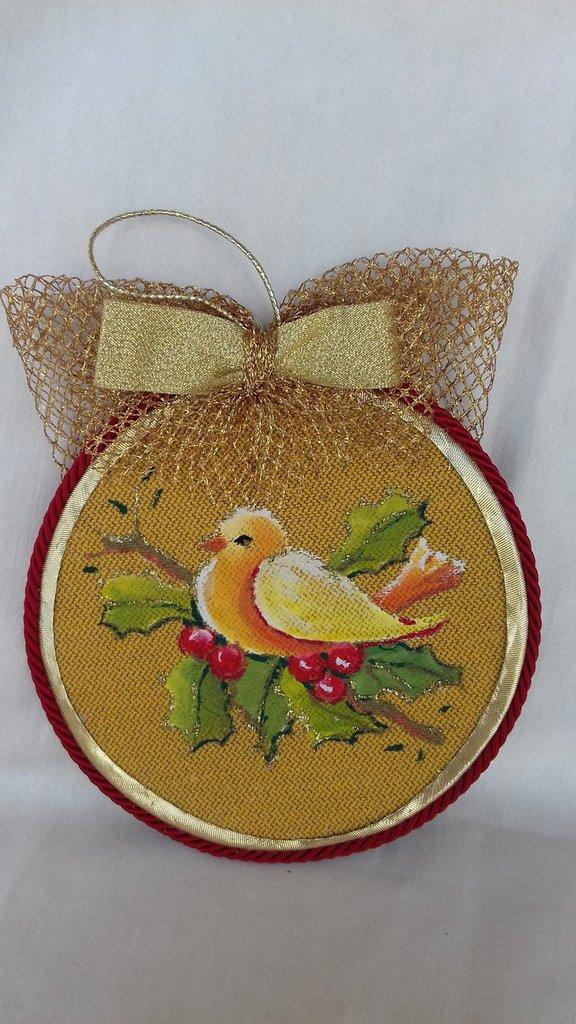Medaglione Natalizio per addobbo albero di Natale