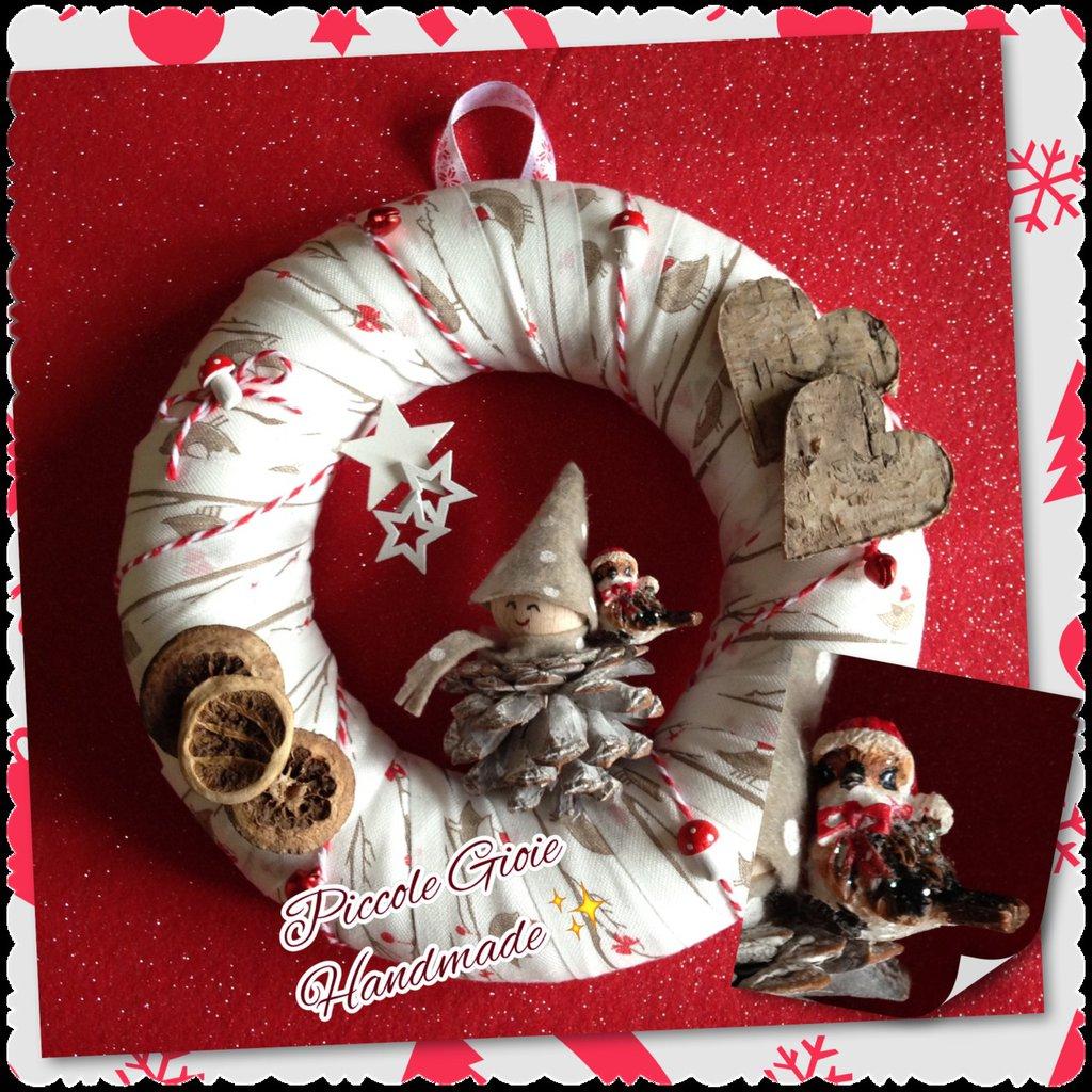 Ghirlanda natalizia del Bosco